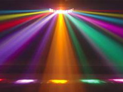 Intelligent light show with dazzling colors
